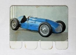 Plaque Métal Voiture Talbot Lago T26 Grand Prix 1949 L'auto à Travers Les âges COOP 1964 - Automobile