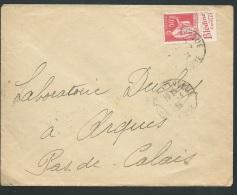 """LSC  Affranchie Par Publitimbre  YVERT N° 283 Pub 5a  ( Blédine Aliment Complet """" En 1934 - Ax14013 - Advertising"""
