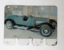 Plaque Métal Voiture Schneider 1925 L'auto à Travers Les âges COOP 1964 - Automotive