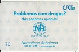 BRAZIL(CRT51) - Narcoticos Anonimos (51)291.2441, 05/00, Used - Brésil