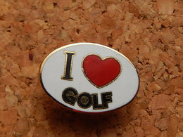 Pin's - J'AIME LE GOLF - Golf