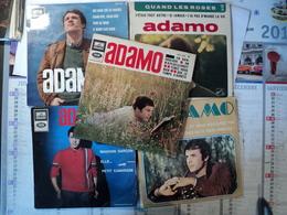 LOT DE CINQ 45 TOURS 4 TITRES ADAMO. EGF 827 / 699 / 800 / 939 / E 016 23043 DU PORTUGAL MES MAINS SUR TES HANCHES - Autres - Musique Française