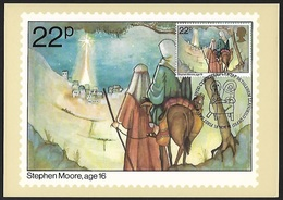 1981 - GREAT BRITAIN - Card - SG 1173 + LLANDEILO - 1952-.... (Elizabeth II)