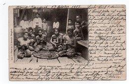 BANGKOK-WOMEN PREPARING BETEL- VIAGGIATA-1902 - Tailandia