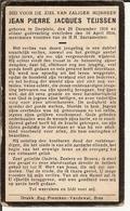 Dp. Teijssen Jean. ° Dorplein 1910 † Dorplein 1934 (Bree) - Religion & Esotérisme