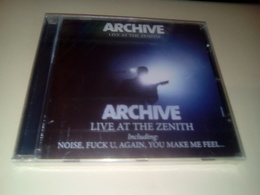 """ARCHIVE """"Live At The Zenith"""" - Rock"""