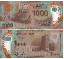 MAURITANIA  New 1,000 Ouguiys  POLIMER  (2018)   Dated 28.11.2017  UNC - Mauritanie