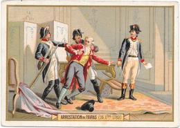 CHROMO PHOSCAO BEBE Aliment Idéal Pour Les Enfants - Arrestation De FAVRAS 24/12/1789 - BARA1 - - Chocolat