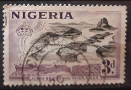 NIGERIA 1953 Motivos Locales. USADO - USED. - Nigeria (1961-...)
