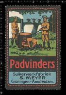 German Poster Stamp, Reklamemarke, Cinderella, Vignette, Scout, Erkunden, Pfadfinder, Scout, Scouting, Padvinders 1 - Scouting