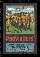 German Poster Stamp, Reklamemarke, Cinderella, Vignette, Scout, Erkunden, Pfadfinder, Scout, Scouting, Padvinders 2 - Scouting