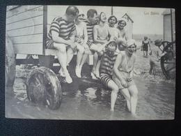 NIEUWPOORT : Les Bains (il Y A De L'ambiance)... En 1912 - Nieuwpoort
