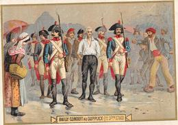 CHROMO PHOSCAO BEBE Aliment Idéal Pour Les Enfants - BAILLY Conduit Au Supplice 11/11/1793 - BARA1 - - Chocolade