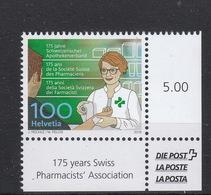 Schweiz  **    2548 Apotheke Neuausgabe 17.5.2018 Postpreis 1,00 CHF - Schweiz