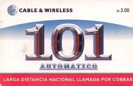 TARJETA TELEFONICA DE PANAMA (CHIP). PAN-C&W-59a (034) - Panamá