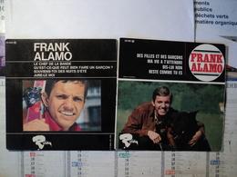 45 TOURS 4 TITRES FRANK ALAMO. RIVIERA 231 081 M. DES FILLES ET DES GARCONS / MA VIE VA M ATTENDRE / DIS LUI NON - Autres - Musique Française