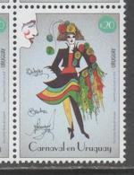 URUGUAY, 2018, MNH, CARNIVAL, 1v - Carnival
