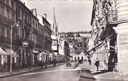 Lot Et Garonne,agen,le Boulevard Carnot En 1955 ,voiture Ancienne,charcuterie De La Gare,spécialité Parisienne, - Agen
