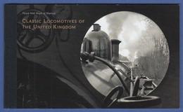 Großbritannien 2014 Prestige-Markenheftchen CLASSIC LOCOMOTIVES MH 175  - Booklets