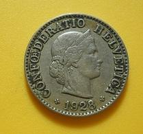 Switzerland 5 Rappen 1928 - Suisse