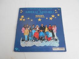 33T. Le Merveilleux Monde De MIREILLE MATHIEU Chante NOEL. - Vinyles
