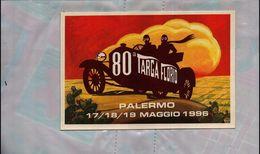 CARTOLINA POSTCARD BROVARONE ALDO TARGA FLORIO 1996 NUOVA NON VIAGGIATA - Rally