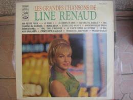 33T. LINE RENAUD.  Les Grandes Chansons. Ma Petite Folie - Ma Cabane Au Canada - Etoile Des Neiges - Mister Banjo - Vinyles