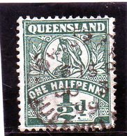 B - 1907 Australia - Queensland - Victoria - Used Stamps