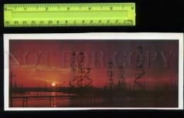 169116 Azerbaijan BAKU PETROLEUM OIL Offshore Oil-derricks OLD - Azerbaïjan