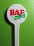 030 - Touilleur - Agitateur - Mélangeur à Boisson - RAF - Peppermint - Rock And Fun - Swizzle Sticks