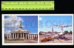 169134 Ukraine KHARKOV Kharkiv AIRPORT AEROFLOT Old Card - Ukraine
