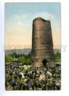 169440 Transcaspian Types KYRGYZSTAN Tower UZGEN Vintage PC - Kazakhstan