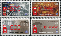 Papua New Guinea. 2017. 500th Anniversary Of The Reformation (MNH OG **) Set Of 4 Stamps - Papouasie-Nouvelle-Guinée