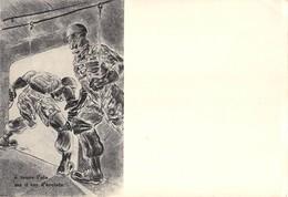 """795"""" E' TENUE L'ALA MA IL COR D'ACCIAIO """" CART ILLUSTRATA ORIG. NON SPED - Guerra 1939-45"""