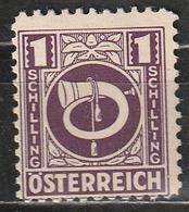 Austria 1945 - Posthorn - Corno Postale (nuovo) - 1945-.... 2ème République