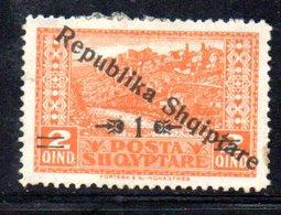 391 - 490 - ALBANIA 1925 ,    Yvert N. 151  Linguellato  * - Albania