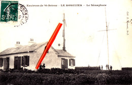 Environs De SAINT-BRIEUC - Le Roselier - Le Sémaphore - Splendide Carte - Saint-Brieuc