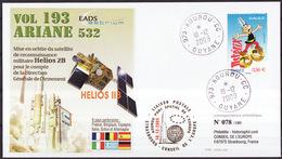 ESPACE - ARIANE Vol Du 2009/12 V193 - Conseil De L'Europe - 1 Document - Europe