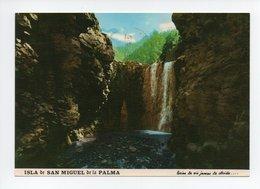 Espagne: Isla De San Miguel De La Palma, Cascada De Colores, Caldera De Taburiente, Parque Nacional (18-1547) - La Palma