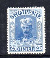 404 - 490 - ALBANIA 1920 , Yvert N. 102  Linguella Forte  * - Albania