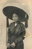 COCHINCHINE TONKIN FEMME COIFFEE DU GRAND CHAPEAU - Vietnam
