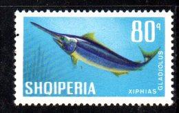 408 - 490 - ALBANIA 1967 , Yvert N. 960  *** MNH Pesci Fish - Albania