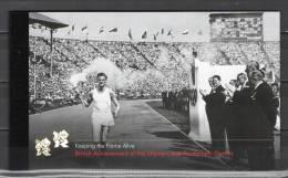 UK England 2012 Olympic Games London, Football Soccer, Equestrian Etc. Prestige Stamp Booklet MNH - Sommer 2012: London