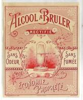 PUBLICITE - ALCOOL A BRULER - Werbepostkarten