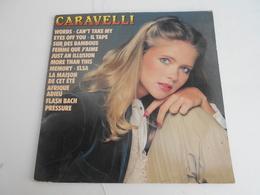 33T. CARAVELLI. Can't Take My Eyes Off You - Il Tape Sur Des Bambous - Afrique Adieu - Memory - Elsa - Words - Pressure - Vinyles