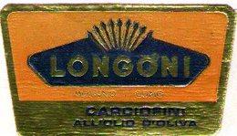 B 1840 - Etichetta, Longoni, Molteno, Como - Frutta E Verdura