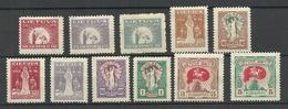 LITAUEN Lithuania 1920 Michel 65 - 75 * - Lituanie