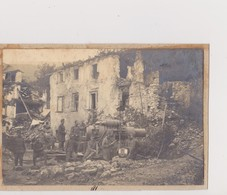 AUSTRIA   --  KuK   --  SOLDATEN, CANNON  ~  ORIGINAL PHOTO  13 Cm X 9 Cm  AM KARTON - 1914-18