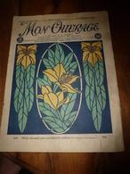 1925 MON OUVRAGE : Bibelots à Faire Soi-même; Pour Les Brodeuses; Etc - Libri, Riviste, Fumetti