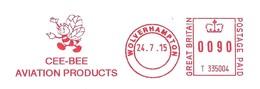 EMA Grande-Bretagne Francotyp-Postalia Type T1000 Avec Publicité Illustrée Thème Abeille - Abeilles